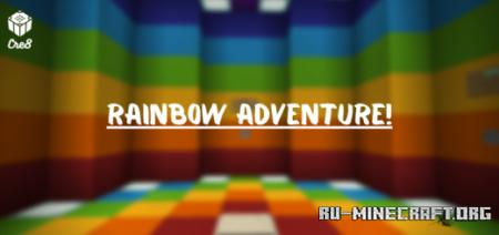 Скачать Rainbow Adventure для Minecraft PE