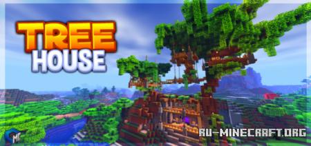 Скачать Tree House by Team Cubitos MC для Minecraft PE