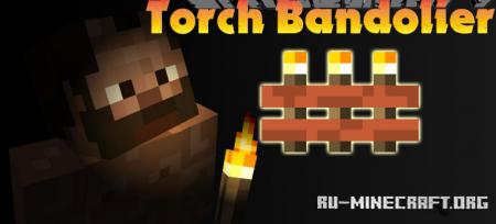 Скачать Torch Bandolier для Minecraft 1.15.2