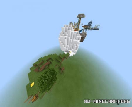 Скачать Parkour Island (Skyland) для Minecraft PE