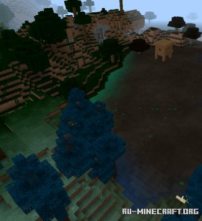 Скачать Colors Biomes Plus для Minecraft PE 1.16