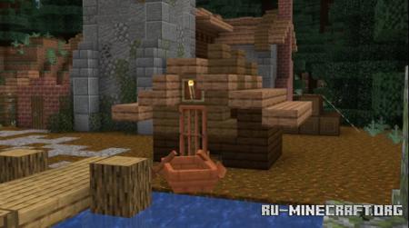 Скачать Medieval Lake House для Minecraft