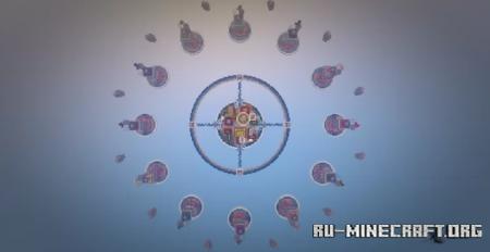 Скачать Skywars Space - 12 Islands для Minecraft