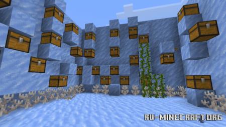 Скачать Find The Button: Ice Age для Minecraft PE