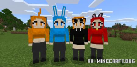 Скачать Girl Friend для Minecraft PE 1.14