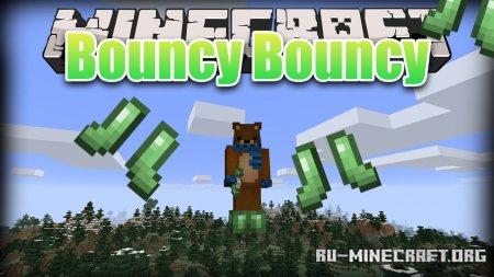 Скачать Bouncy Bouncy для Minecraft 1.15.2