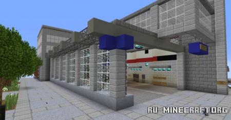 Скачать Capitol Hill Station для Minecraft