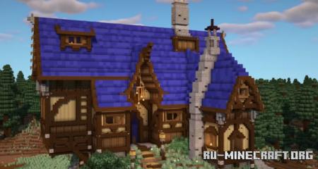 Скачать Medieval Inn - Tavern In The Woods для Minecraft