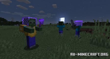 Скачать Rough Mobs Revamped для Minecraft 1.15.2