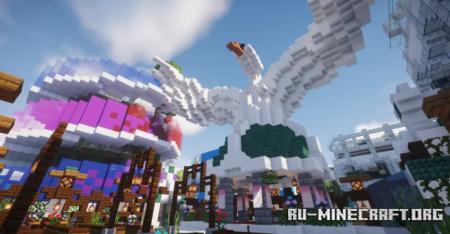 Скачать Procedural Metropolis - Infinity Project для Minecraft