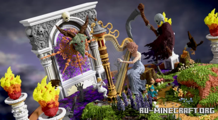 Скачать Harp in Nightmare для Minecraft