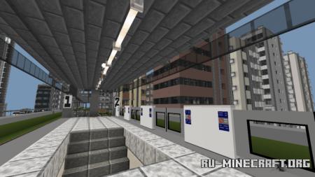 Скачать Metropolitan Urashima City для Minecraft PE
