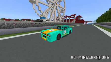 Скачать Nissan Skyline GT-R (R34) для Minecraft PE 1.15