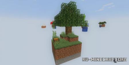 Скачать Skyblock: Biomes Unite для Minecraft