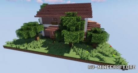 Скачать Suburban House by NPUzeal для Minecraft