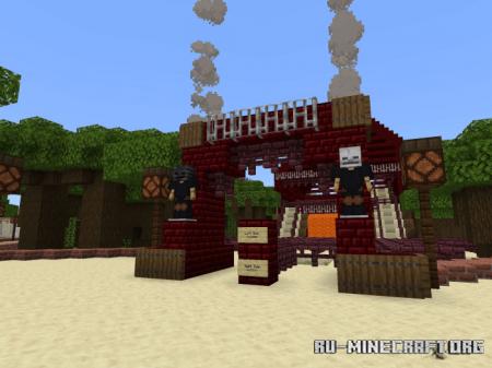 Скачать Woodlands of Wonder для Minecraft PE