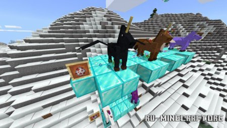 Скачать Unicorns and Butterflies для Minecraft PE 1.15