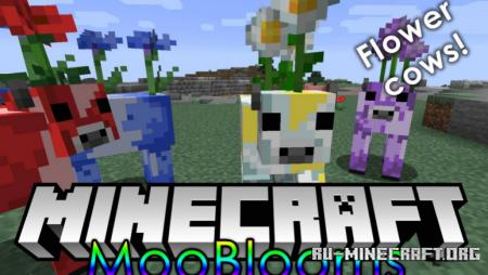 Скачать Mooblooms для Minecraft 1.16