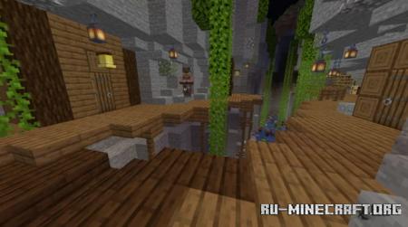 Скачать Village in Canion для Minecraft