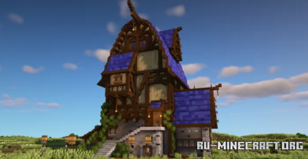 Скачать Medieval Mansion In The Plains для Minecraft