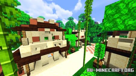 Скачать Village Badlands and Jungle для Minecraft PE