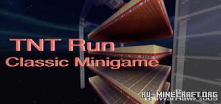 Скачать TNT Run by TheWarHawk2005 для Minecraft PE