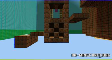 Скачать Noteblock Parkour для Minecraft PE