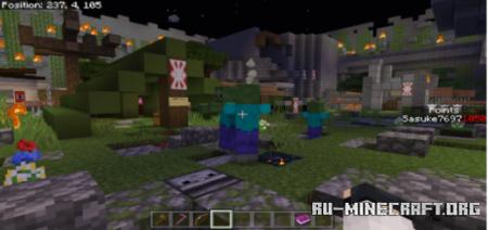 Скачать Call of Duty Zombies – Deep Woods для Minecraft PE