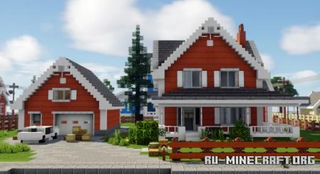 Скачать Interior Decorators - The Cedar Estate для Minecraft