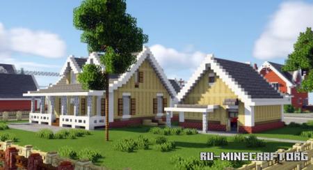 Скачать Interior Decorators - The Hazel View для Minecraft
