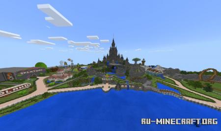Скачать The World Of Games (Theme Park) для Minecraft PE