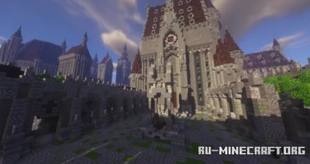 Скачать Hogwarts Castle by Daniele1912 для Minecraft