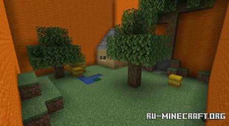 Скачать Find the Button by kitotek для Minecraft