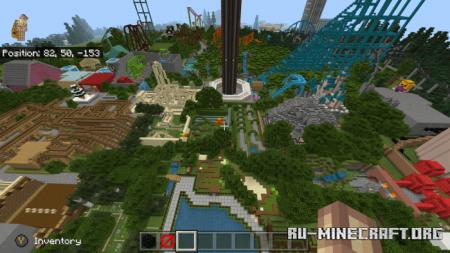 Скачать Savanna World для Minecraft PE