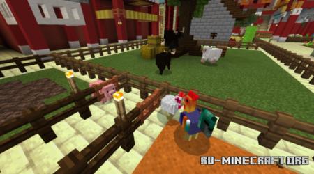 Скачать Asian Roofs для Minecraft