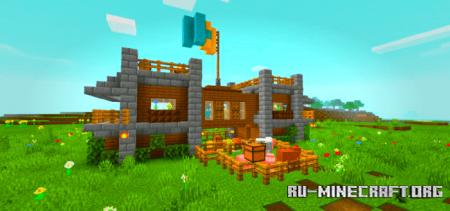 Скачать House for 2 Friends для Minecraft PE