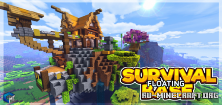 Скачать Floating Survival Base для Minecraft PE