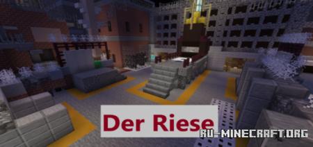 Скачать COD WaW-Der Riese (Minigame) для Minecraft PE