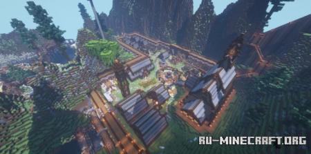 Скачать Vikings Village by ChaosCrafterHD для Minecraft