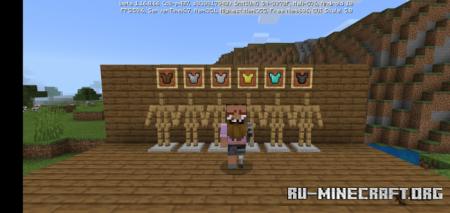 Скачать Invisible Armor для Minecraft PE 1.16