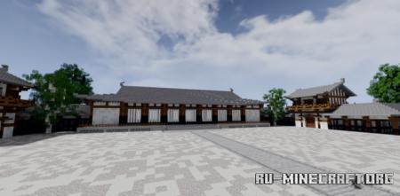 Скачать Hōryū-ji Temple для Minecraft
