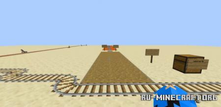 Скачать Roller Coaster and Parkour by weater для Minecraft