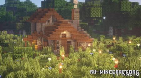 Скачать Castle House by Nalyu для Minecraft