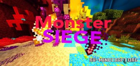 Скачать Monster Siege для Minecraft PE