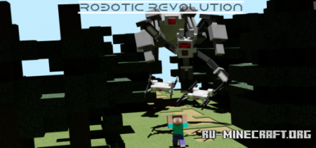 Скачать Robotic Revolution для Minecraft PE 1.14