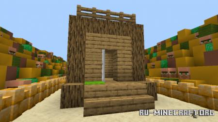 Скачать Unfair Villager для Minecraft PE