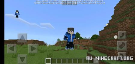 Скачать New Player Animation для Minecraft PE 1.16