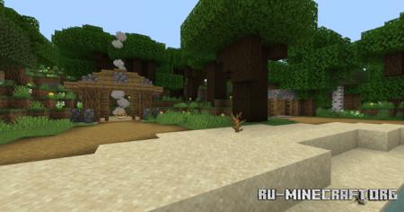 Скачать The Isle of Mysteries для Minecraft PE