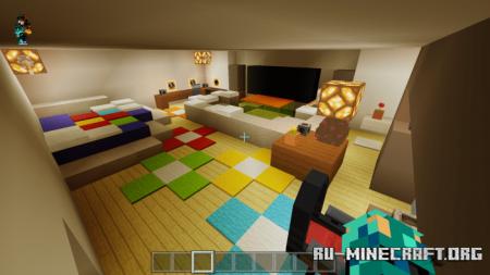 Скачать 40 Million Dollar Mansion (Los Angeles) для Minecraft PE