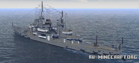 Скачать USS Erie (PG-50) для Minecraft